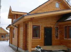 Деревянные панели и профилированный брус для дома