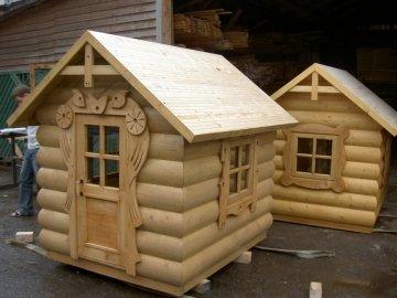 Детские игровые площадки (домики)