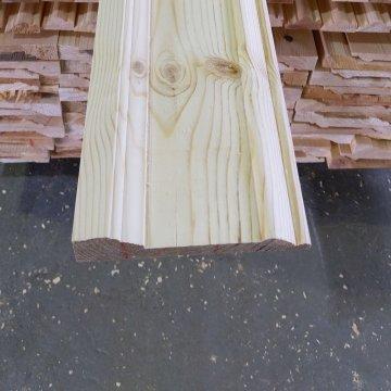 Плинтус из лиственницы П16-160