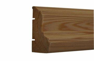 Плинтус - наличник из лиственницы Н18-95
