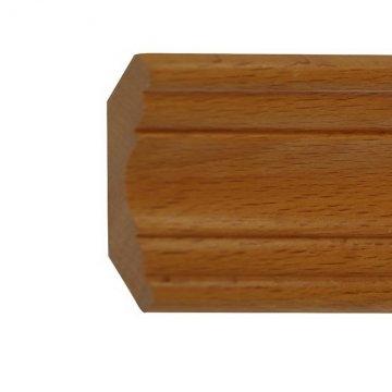 Плинтус дубовый П36-65