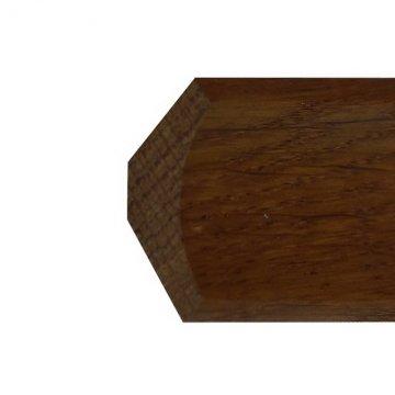 Плинтус - галтель из дуба Г49-35