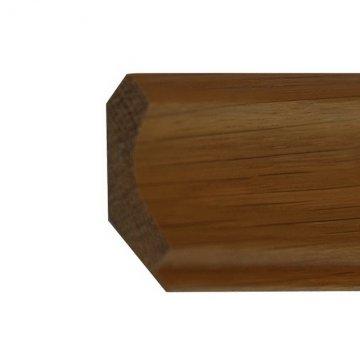 Плинтус - галтель сосновый Г50-35