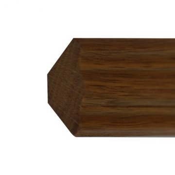 Плинтус - галтель из лиственницы Г52-25