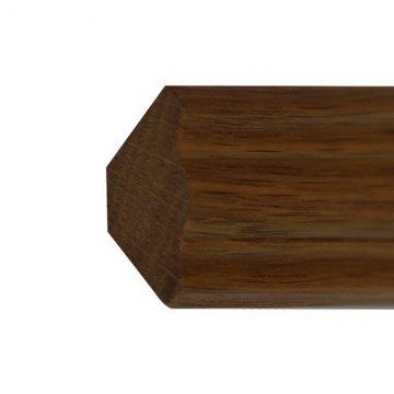 Плинтус - галтель сосновый Г52-25