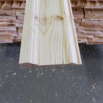 Плинтус ясень П16-160