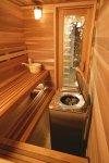 Изготовление и отделка бани из кедра и липы