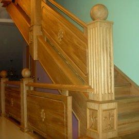 Лестница лиственница Юкки